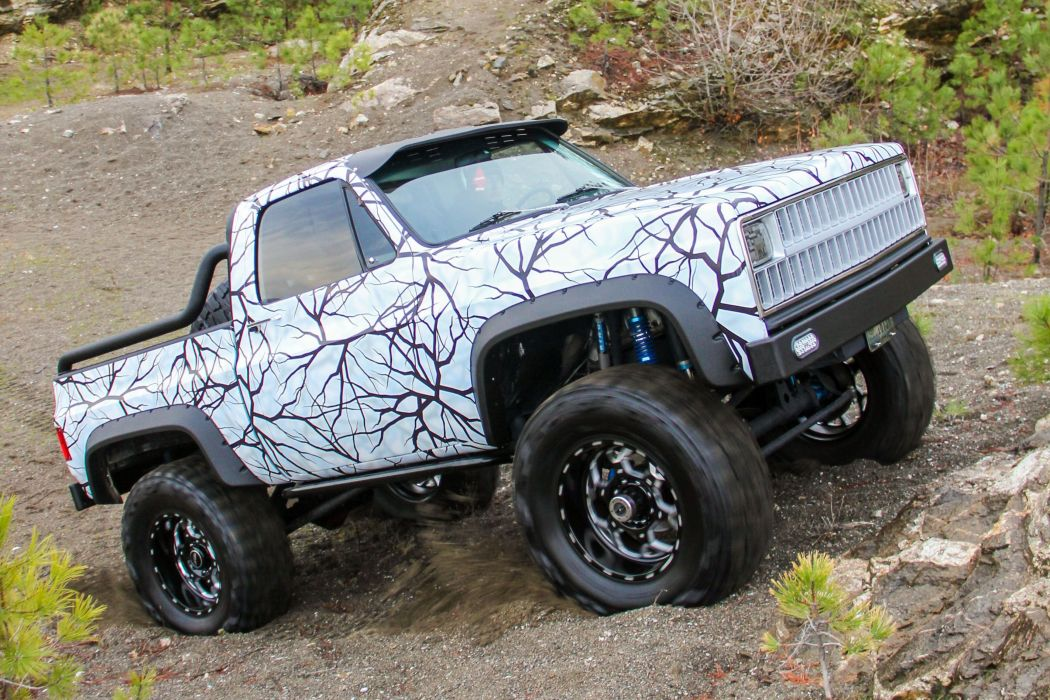 Chevrolet K10 Pickup offroad 4x4 custom truck wallpaper