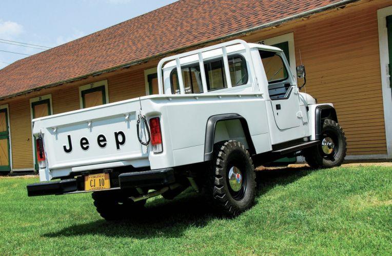 JEEP CJ-10 offroad 4x4 custom truck pickup wallpaper