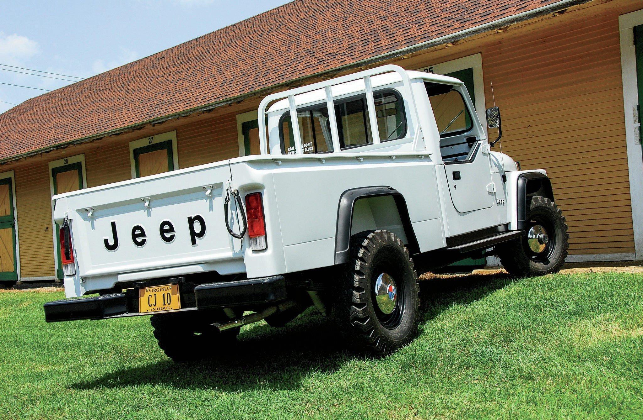 JEEP CJ-10 offroad 4x4 custom truck pickup wallpaper ...