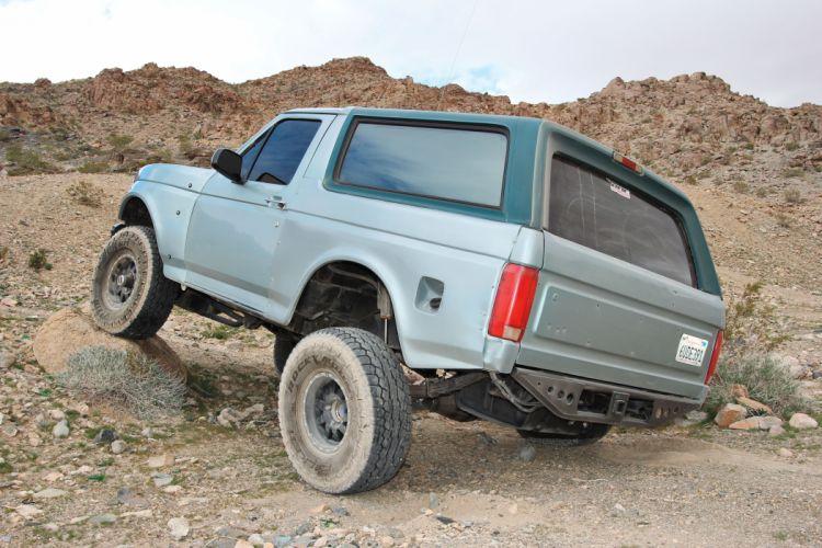 1996 FORD BRONCO offroad 4x4 custom truck suv wallpaper