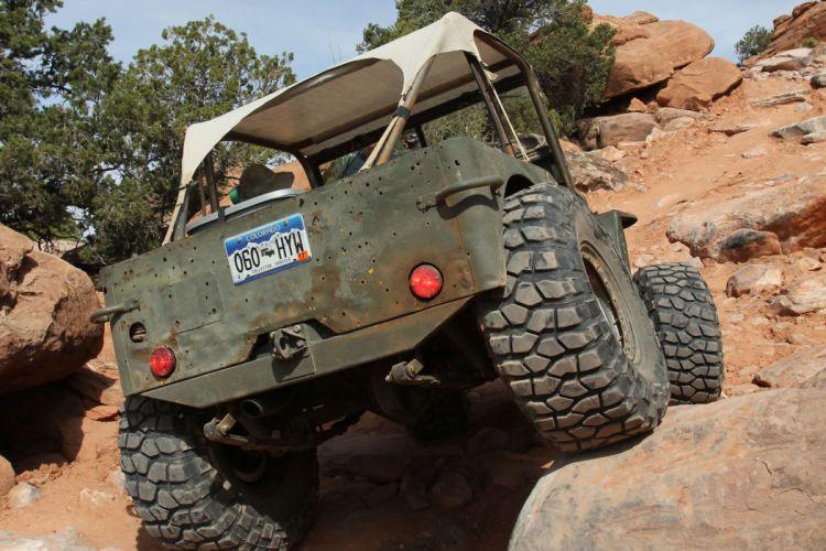 JEEP offroad 4x4 custom truck suv retro wallpaper
