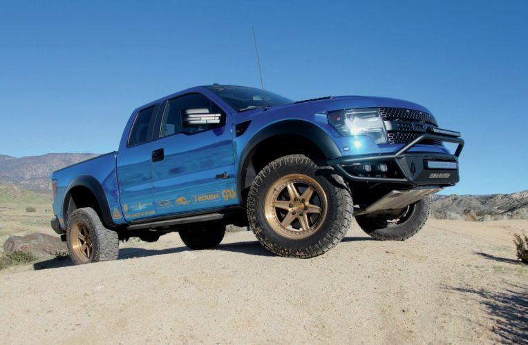 2013 FORD RAPTOR offroad 4x4 custom truck pickup wallpaper