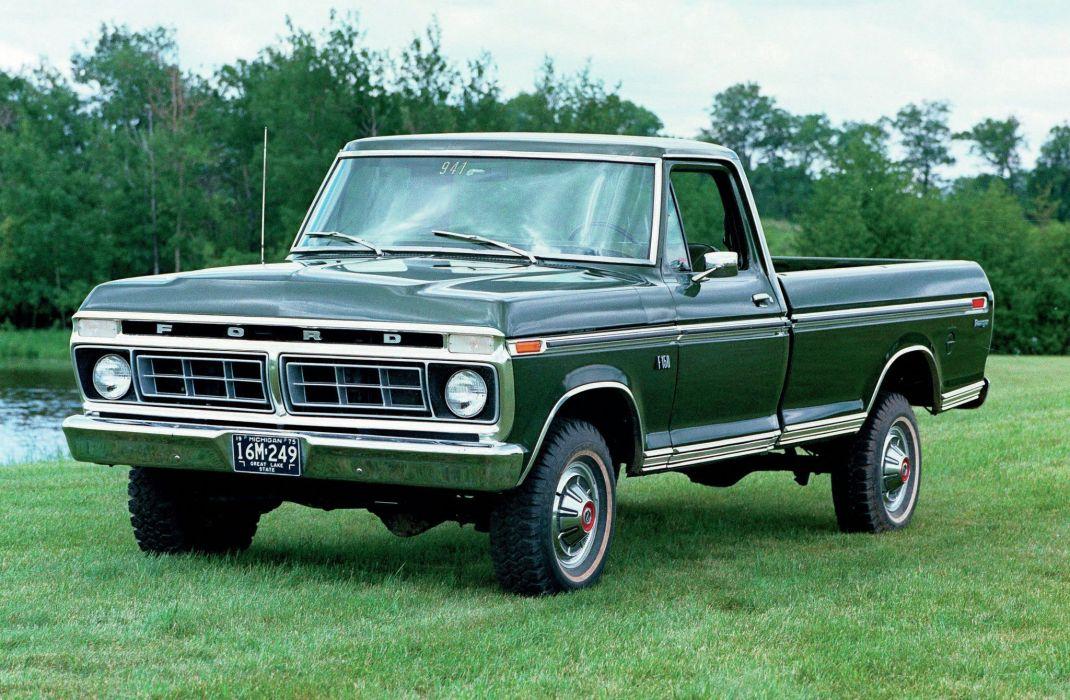 FORD offroad 4x4 custom truck pickup classic wallpaper