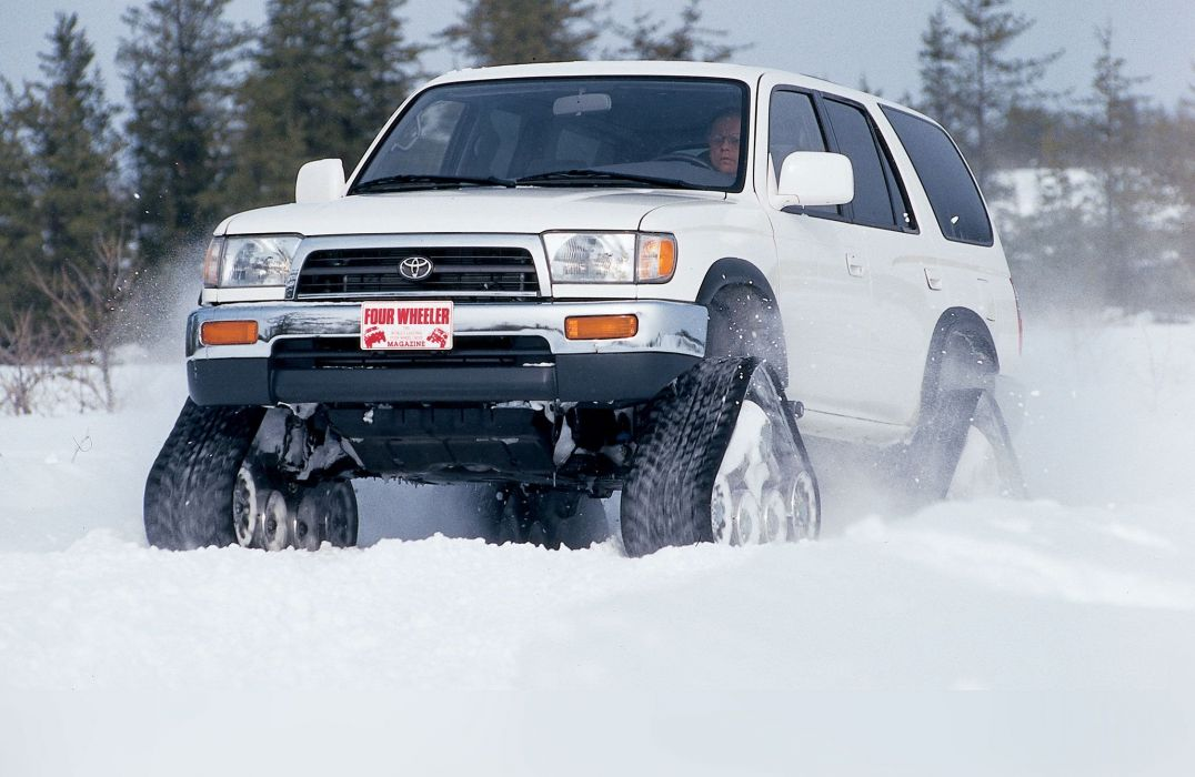 1997 Toyota 4runner Tracks offroad 4x4 custom truck suv wallpaper