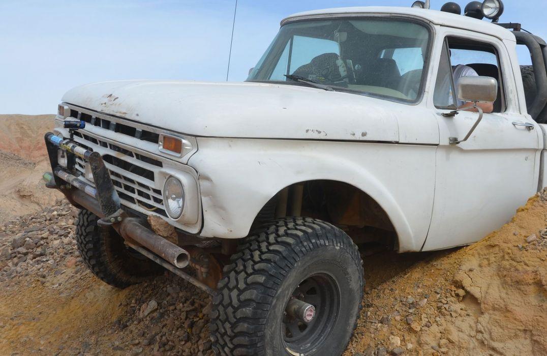 1966 FORD F-100 offroad 4x4 custom truck pickup wallpaper