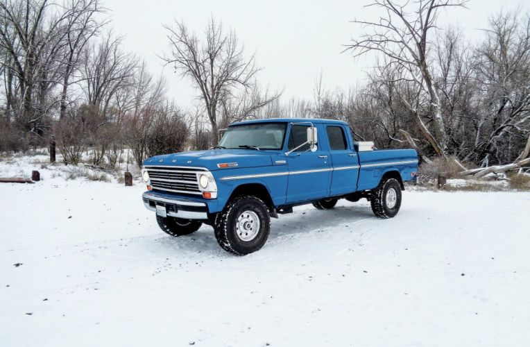 1971 Ford F-250 offroad 4x4 custom truck pickup classic wallpaper