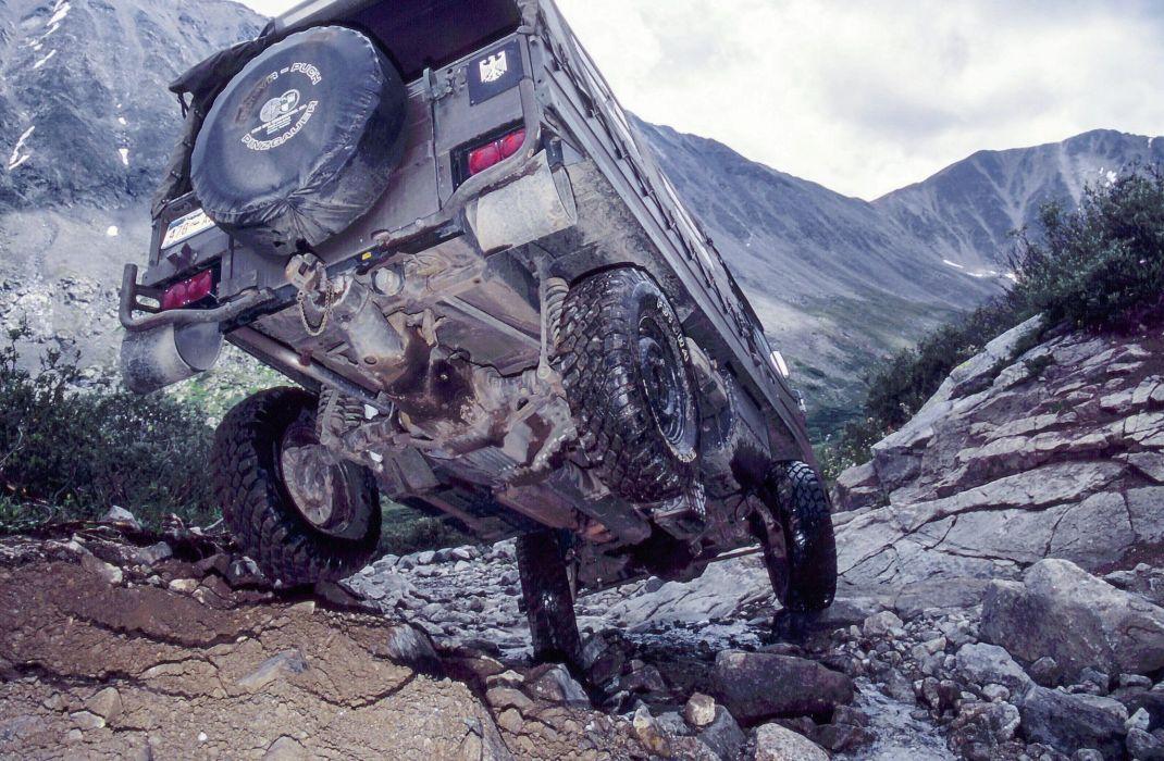 1971-2000 PINZGAUER offroad 6x6 custom truck military wallpaper
