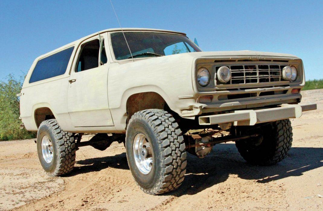 DODGE RAMCHARGER offroad 4x4 custom truck suv mopar wallpaper