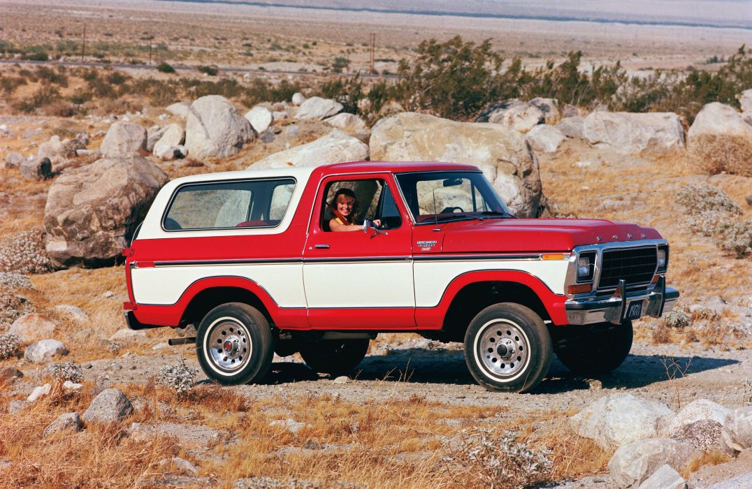 FORD BRONCO offroad 4x4 custom truck suv wallpaper
