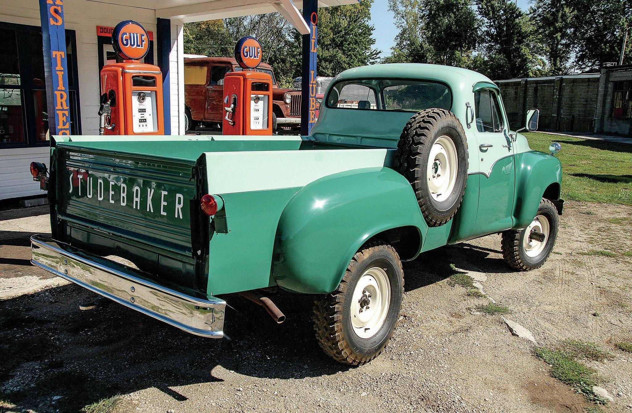 1958 STUDEBAKER TRANSTAR 3E6D offroad 4x4 custom truck pickup retro ...