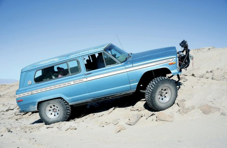 1975 JEEP CHEROKEE CHIEF offroad 4x4 custom truck stationwagon suv classic wallpaper