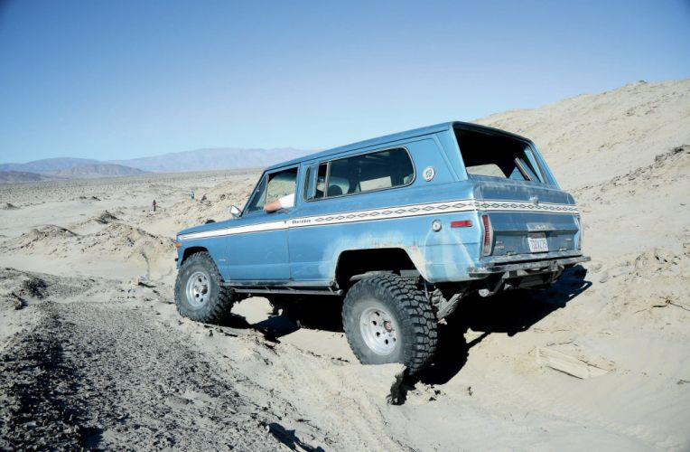 1975 JEEP CHEROKEE CHIEF offroad 4x4 custom truck stationwagon suv classic wallpaper