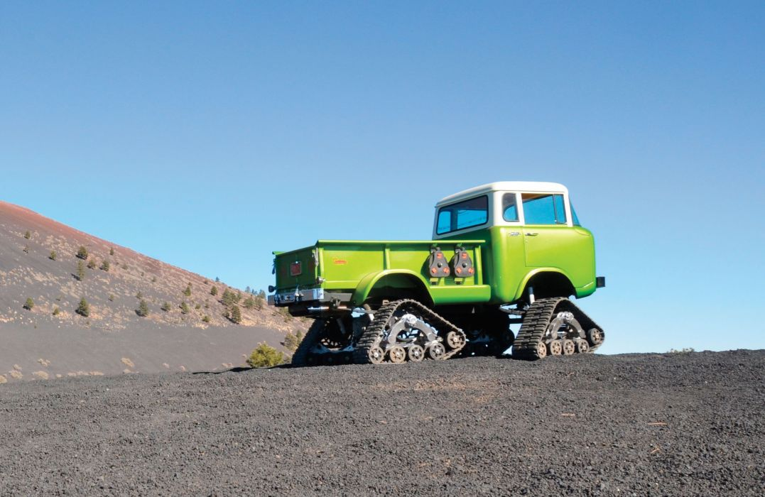 1958 JEEP FORWARD CONTROL 150 offroad 4x4 custom truck pickup wallpaper