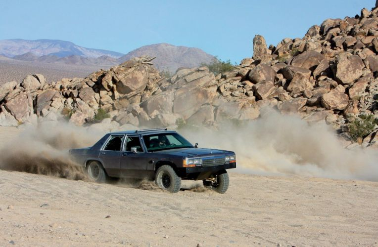 1990 FORD CROWN VICTORIA offroad 4x4 custom wallpaper