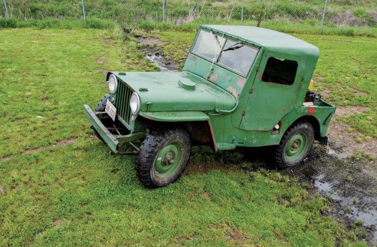 1946 JEEP CJ-2A offroad 4x4 custom truck willys suv wallpaper