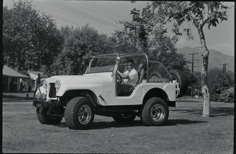 STEVE MCQUEEN JEEP offroad 4x4 custom truck suv classic wallpaper