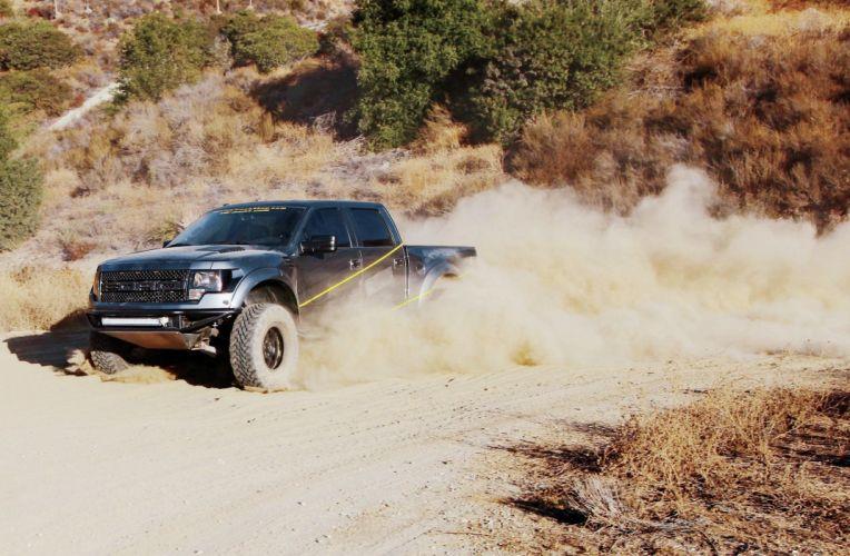 2011 FORD F-150 RAPTOR offroad 4x4 custom truck pickup wallpaper