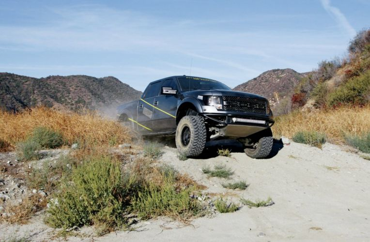 2011 FORD F-150 RAPTOR offroad 4x4 custom truck pickup wallpaper