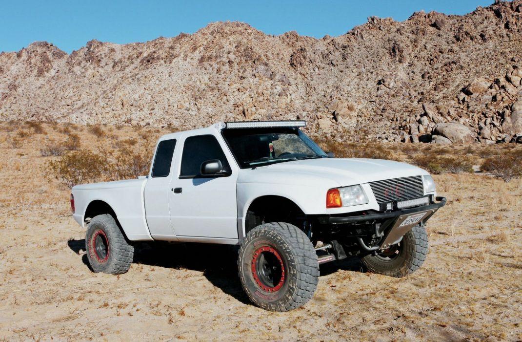 2001 FORD RANGER offroad 4x4 custom truck pickup baja wallpaper