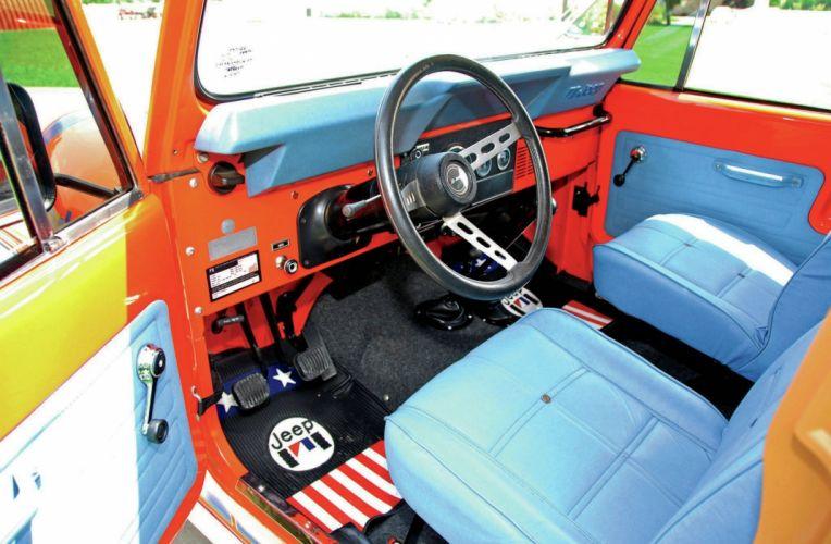 1979 JEEP CJ-7 RENEGADE offroad 4x4 custom truck suv wallpaper