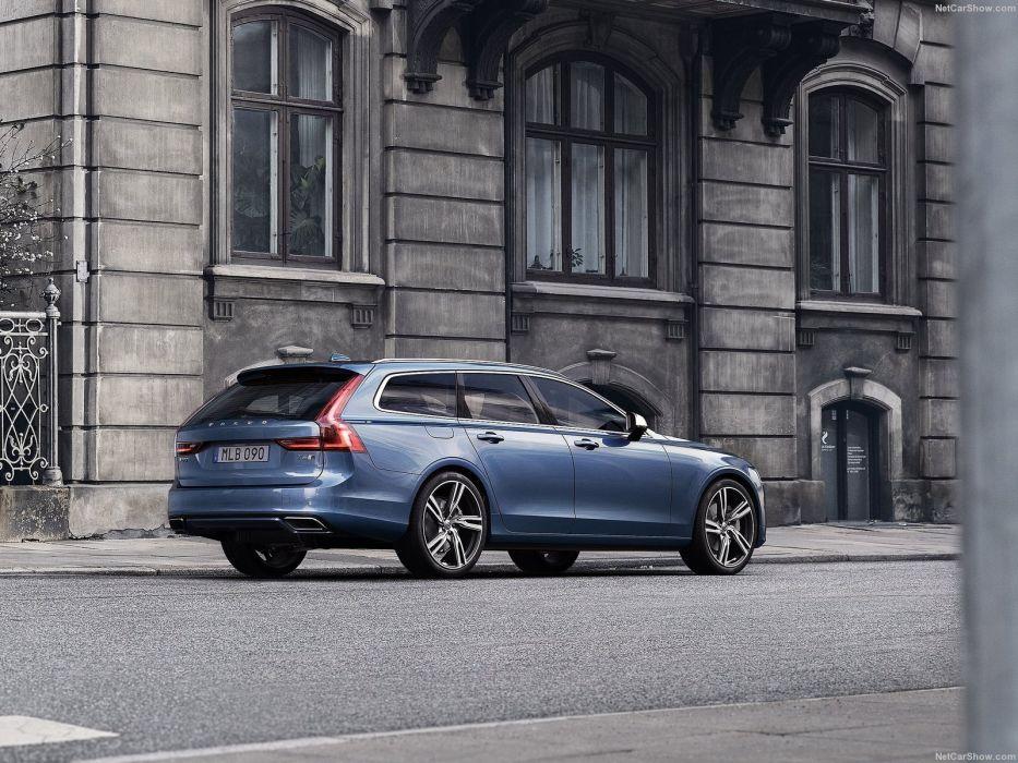Volvo V90 R-Design cars 2016 wallpaper