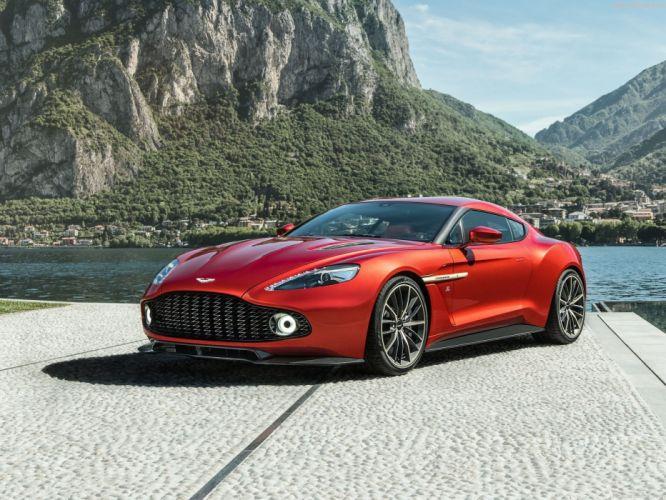 Aston Martin Vanquish Zagato cars 2016 wallpaper