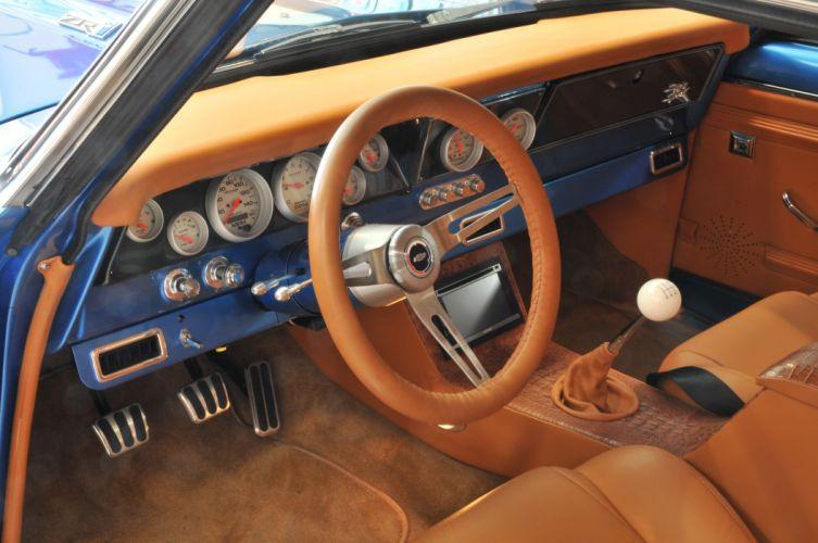 1966 Chevrolet Chevy Nova Coupe Hardtop Super Street Pro Touring Cruiser USA -06 wallpaper