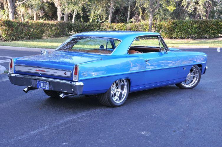 1966 Chevrolet Chevy Nova Coupe Hardtop Super Street Pro Touring Cruiser USA -07 wallpaper