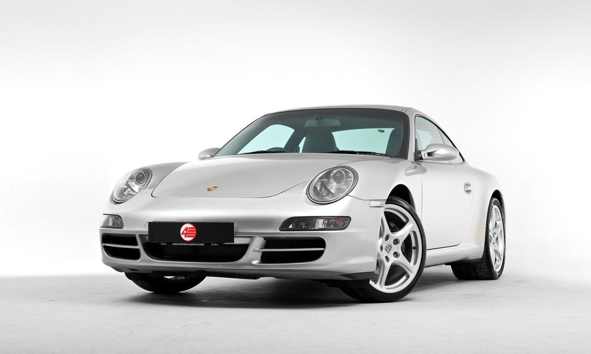 Porsche 911 Carrera Coupe UK-spec (997) cars 2005 wallpaper