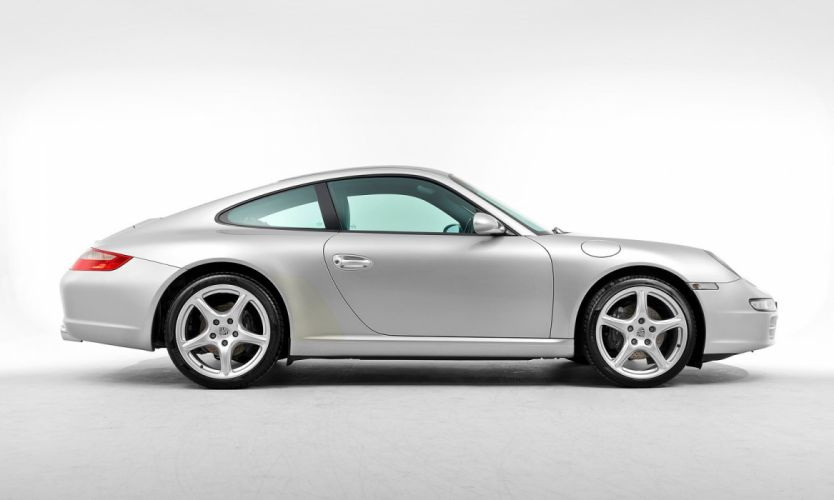 Porsche 911 Carrera Coupe UK-spec (997) cars 2005 wallpaper