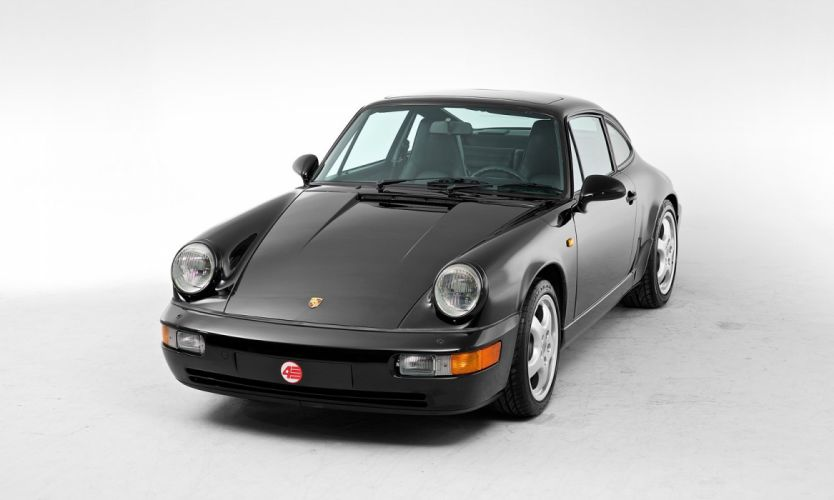 Porsche 911 Carrera 2 Coupe UK-spec (964) cars 1992 wallpaper