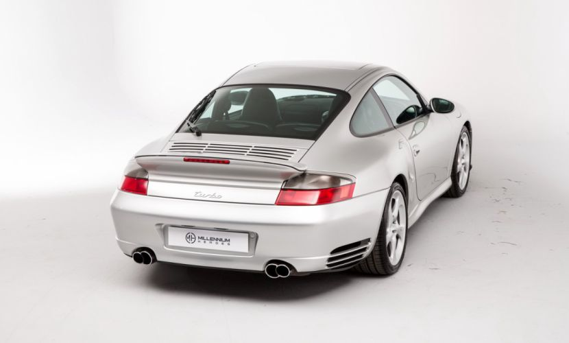 Porsche 911 911 Turbo UK-spec (996) cars 2000 wallpaper