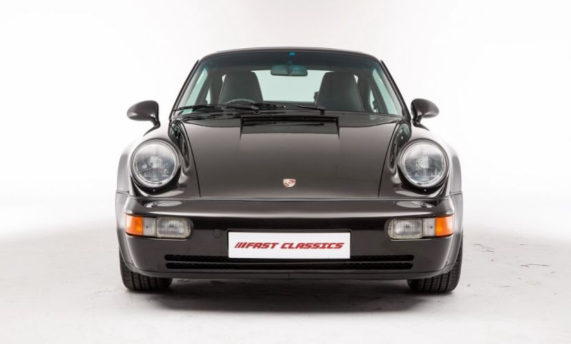 Porsche 911 Turbo UK-spec (964) cars 1992 wallpaper