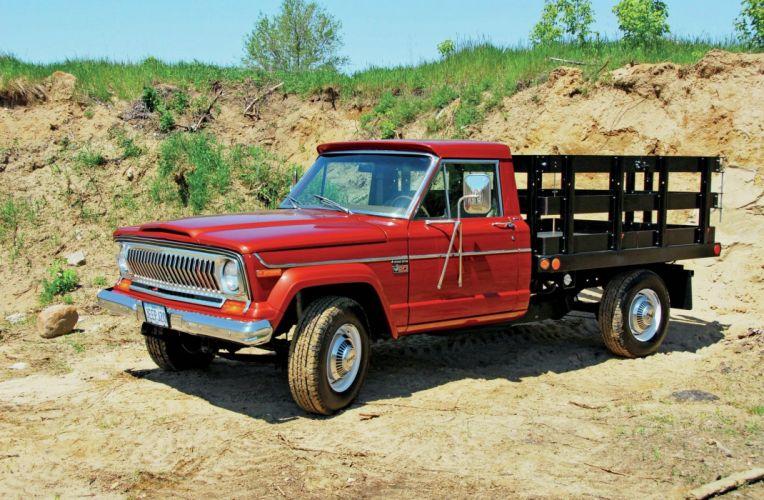 1978 JEEP J-20 FLATBED offroad 4x4 custom truck pickup wallpaper