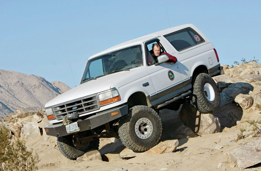 1993 FORD BRONCO offroad 4x4 custom truck suv wallpaper