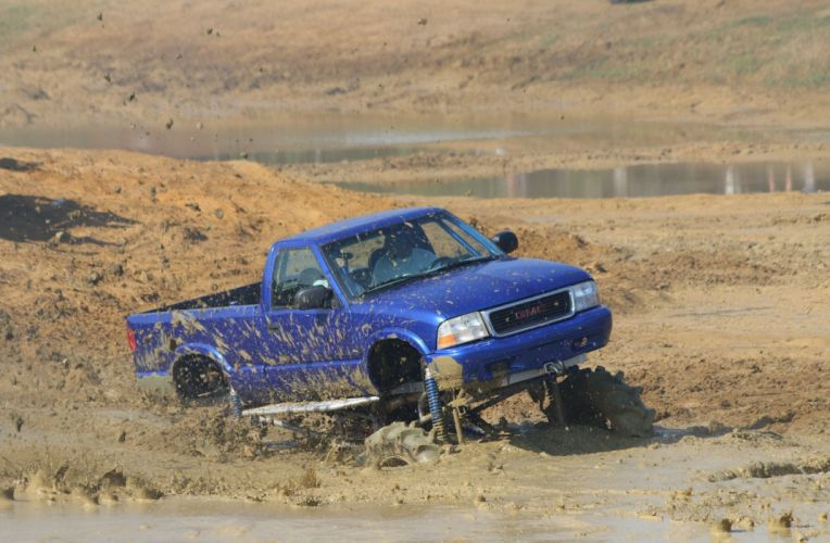 1998 CHEVROLET S10 offroad 4x4 custom truck pickup monster wallpaper