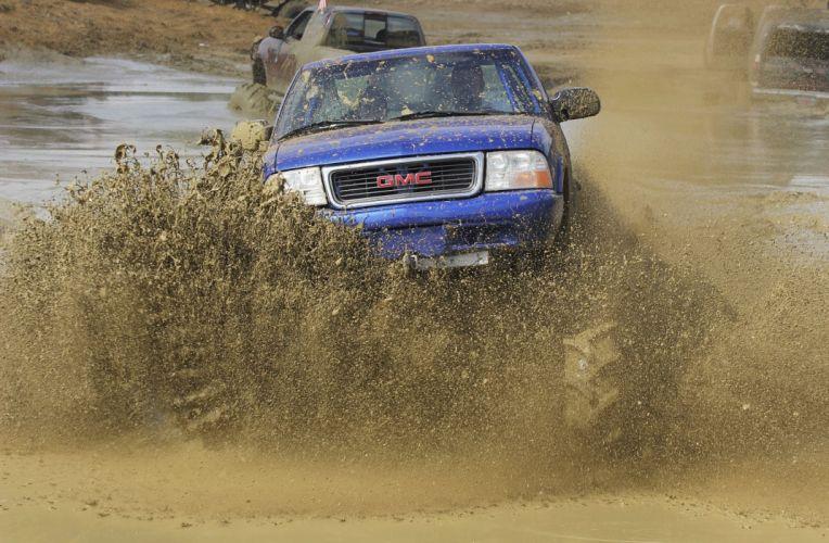 1998 CHEVROLET S10 offroad 4x4 custom truck pickup monster wallpaper