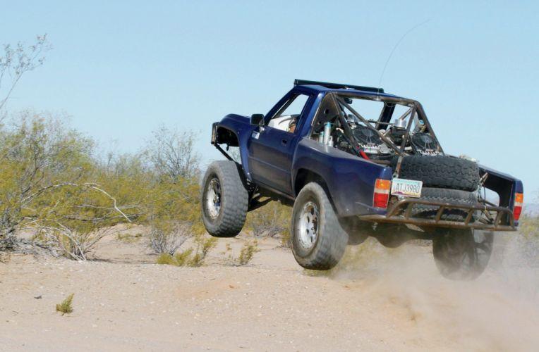 1986 TOYOTA PICKUP offroad 4x4 custom truck baja rally wallpaper