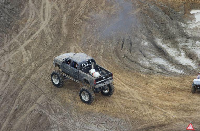 2004 CHEVROLET SILVERADO offroad 4x4 custom truck pickup monster-truck monster wallpaper