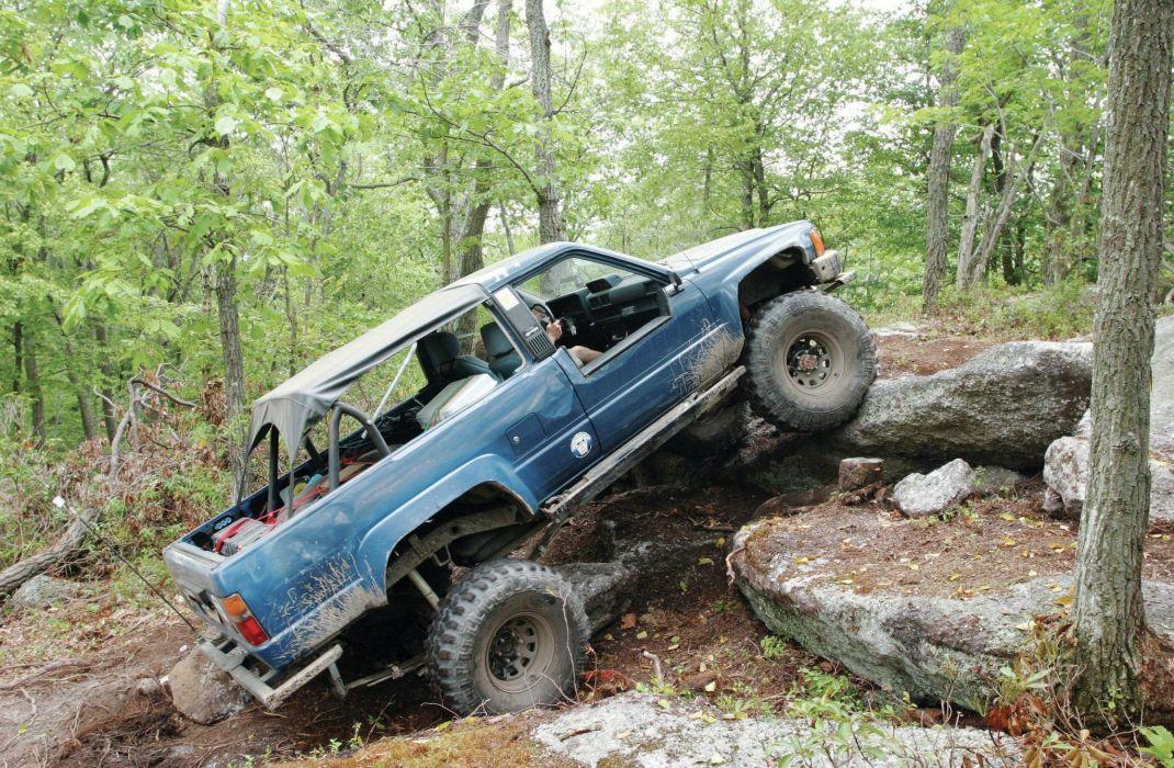 TOYOTA 4RUNNER offroad 4x4 custom truck suv wallpaper