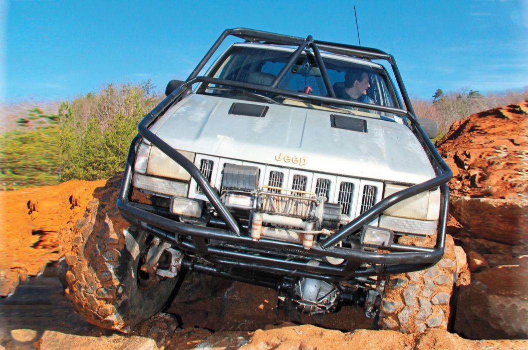 1994 JEEP GRAND CHEROKEE suv offroad 4x4 custom truck wallpaper