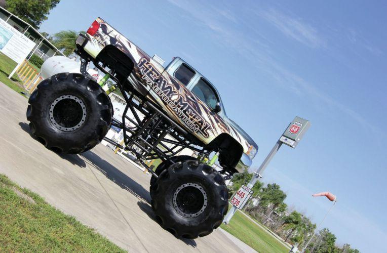 2008 CHEVROLET 2500 HD pickup offroad 4x4 custom truck monster-truck monster wallpaper