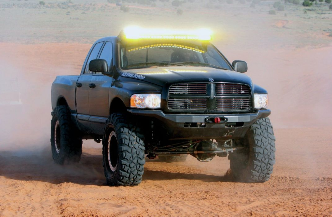 2005 Dodge Ram 2500 Quad Cab Pickup Offroad 4x4 Custom Truck Mopar Wallpaper 2048x1340 990935 Wallpaperup