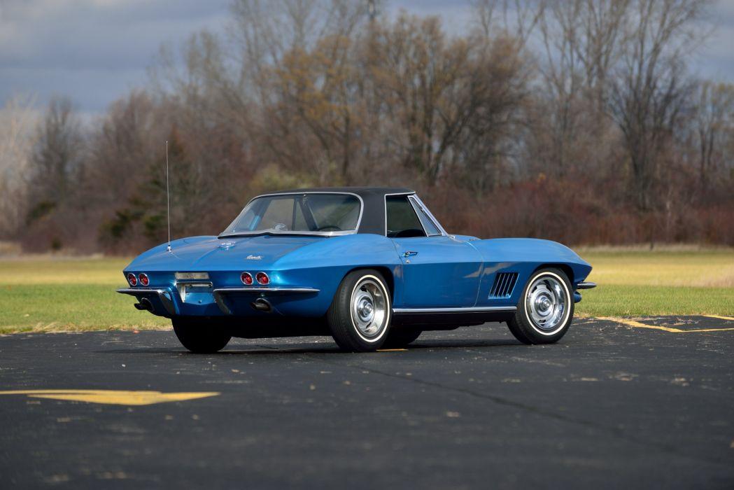 1967 Chevrolet Corvette Sting Ray L71 427 Convertible stingray supercar muscle classic wallpaper