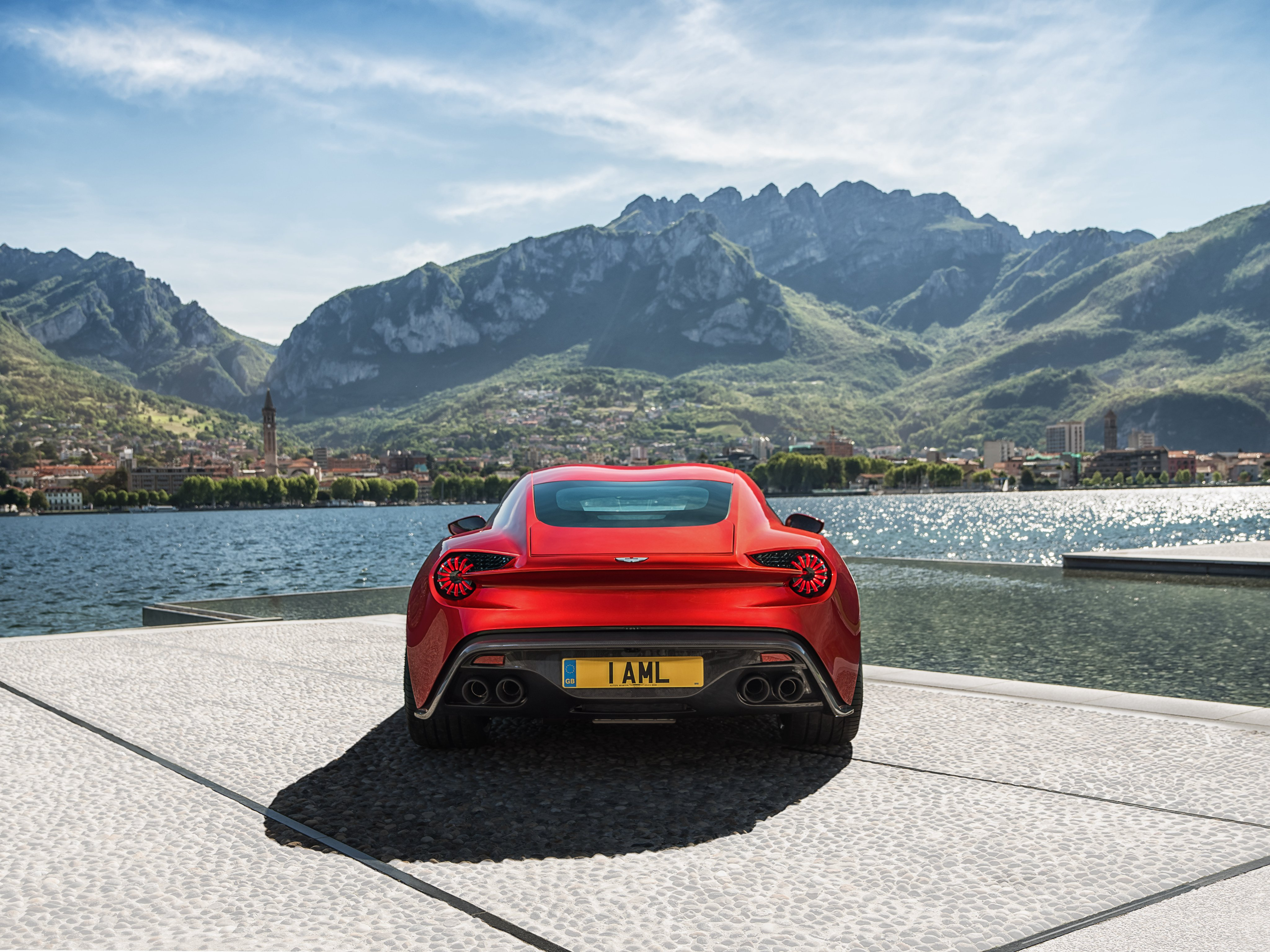 2016 Aston Martin Vanquish Zagato Concept Zagato wallpaper background