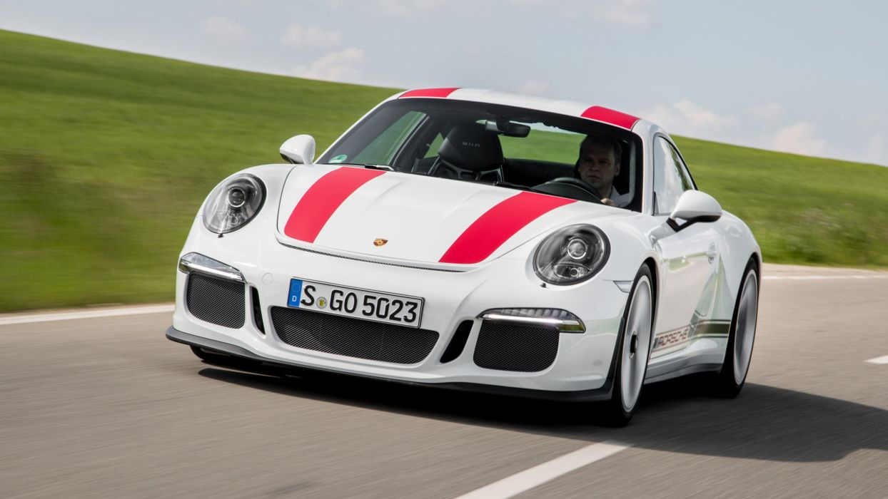 2016 Porsche 911 R cars wallpaper
