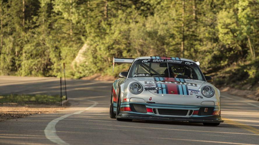 2016 Pikes Peak Hill Climb race cars wallpaper