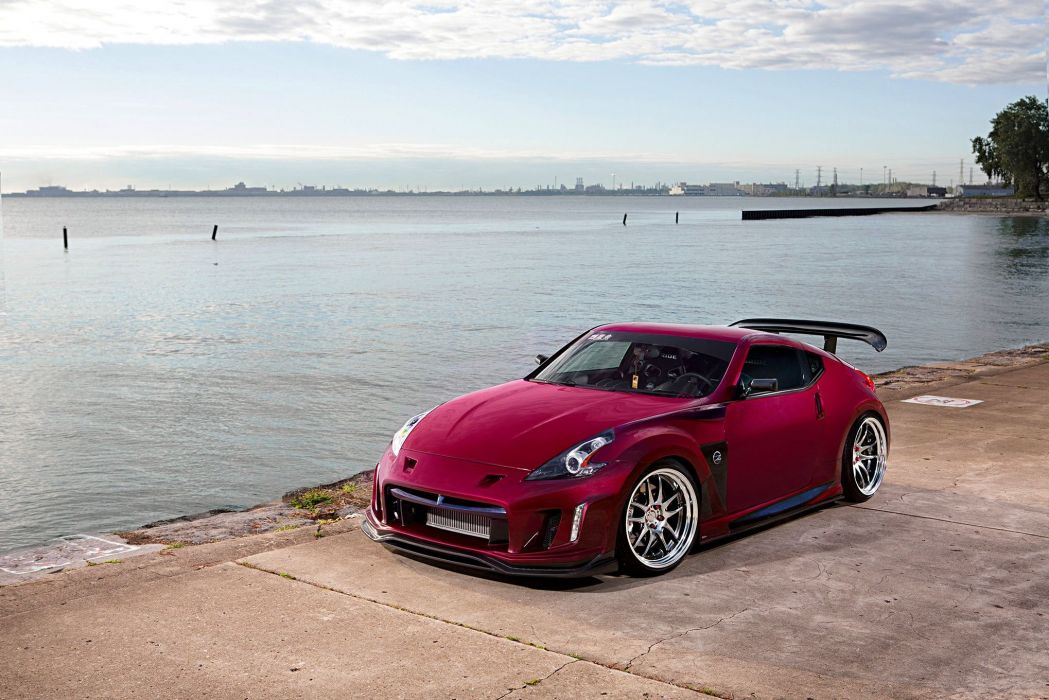 2009 Nissan 370Z cars modified wallpaper