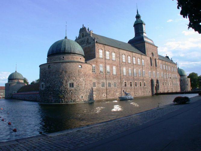castillo vadstena suecia europa arquitectura wallpaper