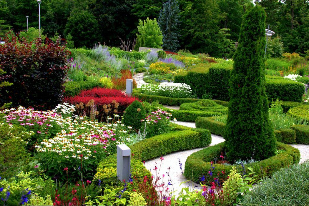USA Gardens Echinacea purpurea Shrubs Trees Toronto Botanical Garden Ontario Nature wallpaper